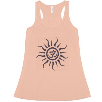 Om Misses Relaxed Fit Anvil Heavyweight Tank Top