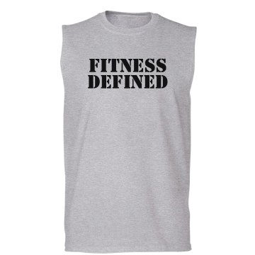 Gym Personal Trainer Unisex Gildan Ultra Cotton Sleeveless Tee