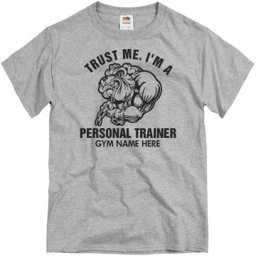 Trust Me Trainer Unisex Basic Gildan Heavy Cotton Crew Neck Tee