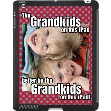 Grandpa's iPad Black iPad Smart Cover