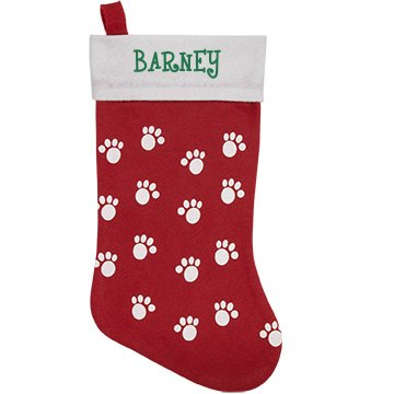 Barney's Pet Stocking Personalized Pet Stocking