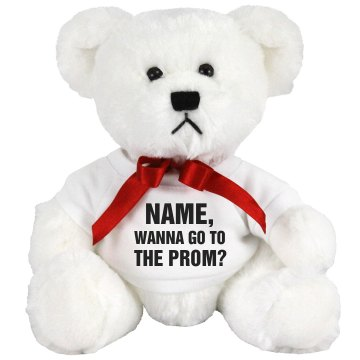 Stephanie's Prom Date Small Plush Teddy Bear