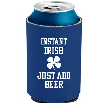 Instant Irish Koozie The Official KOOZIE Can Kooler