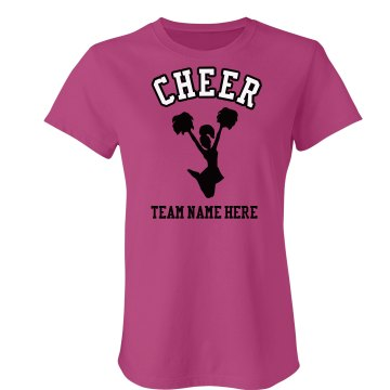 Cheer! Junior Fit Bella Sheer Longer Length Rib Tee