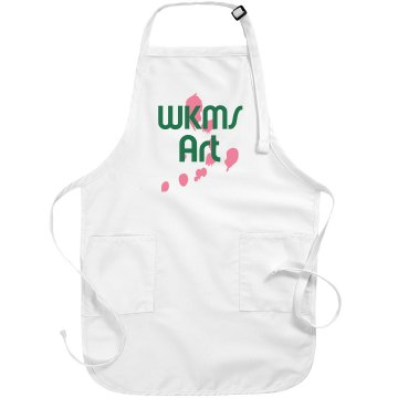 WKMS Art Apron Port Authority Adjustable Full Length Apron