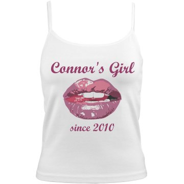 Connor's Girl Bella Junior Fit Contrast Satin Trim Cami