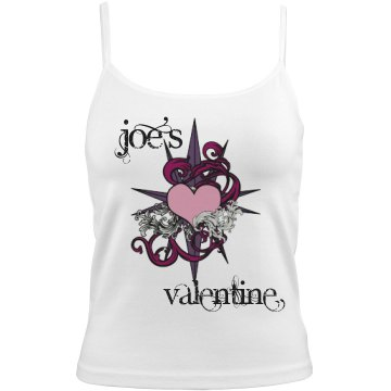 Joe's Valentine Cami Bella White Basic Junior Fit Camisole