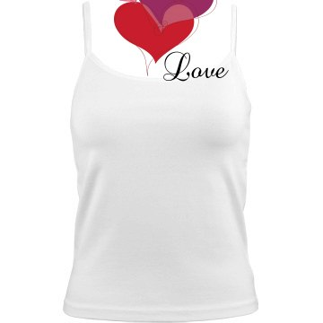 Mark's Love Heart Cami Bella Junior Fit Camisole