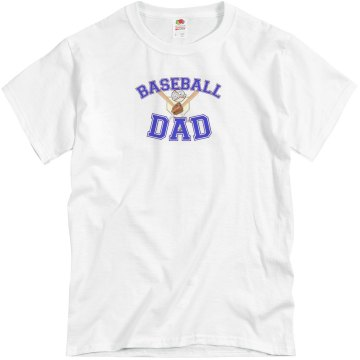 DeLeon Baseball Dad Unisex Basic Gildan Heavy Cotton Crew Neck Tee