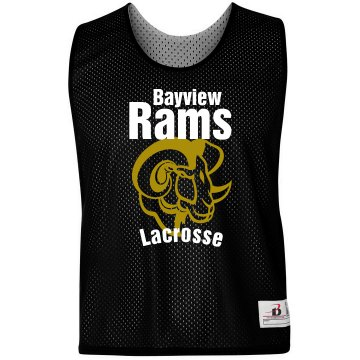 Rams Lacrosse Pinnie Badger Sport Lacrosse Reversible Practice Pinnie