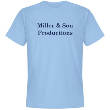 Miller & Son Productions  Unisex Gildan Heavy Cotton Crew Neck Tee