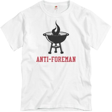 Dad&#x27;s Anti-Foreman Unisex Basic Gildan Heavy Cotton Crew Neck Tee