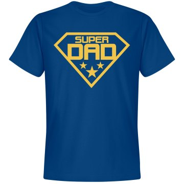 Super Dad Super Shirt Alo Short Sleeve Compression Tee