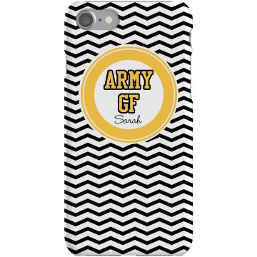 Army Girlfriend iPhone Plastic iPhone 5 Case Black