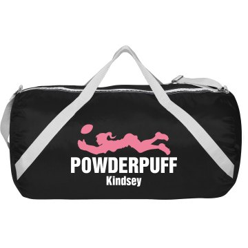 Kindsey's Powderpuff Bag Augusta Sport Roll Bag