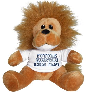 Future Lion Football Fan Plush Lion