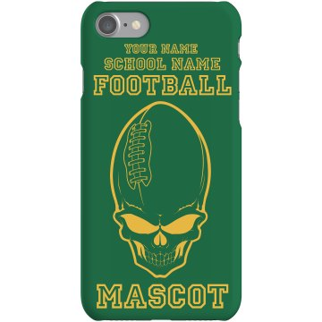 Football Template iPhone Plastic iPhone 5 Case Black