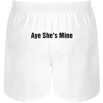 She&#x27;s Mine Boxers Unisex Robinson Boxer Shorts