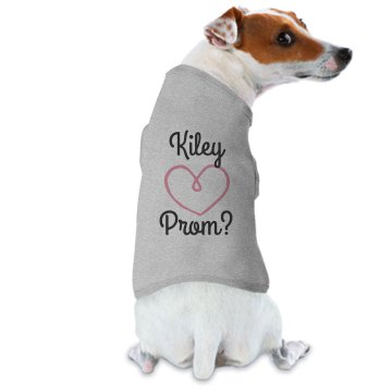 Dog Prom Shirt Doggie Skins Dog Ringer Tee