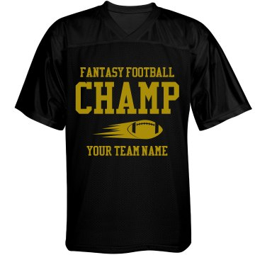 Fantasy Football Champ Unisex Augusta Replica Football Jersey