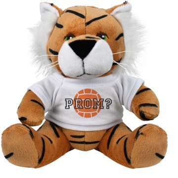 Prom School Sports Plush Tiger