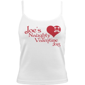 Naughty Valentine Bella White Basic Junior Fit Camisole