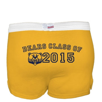 Class Of 2013 Shorts Junior Fit Soffe Cheer Shorts