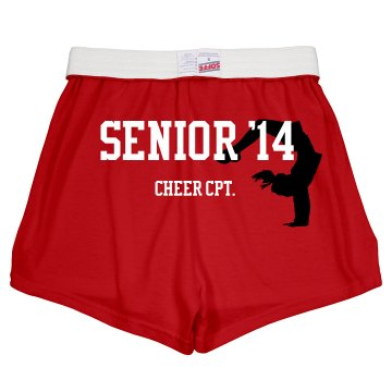 Senior Cheer CPT Shorts Junior Fit Soffe Cheer Shorts