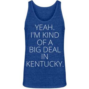 Big Deal in Kentucky Unisex Gildan Ultra Cotton Sleeveless Tee
