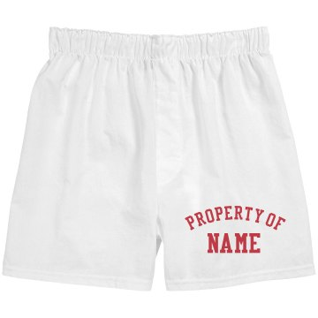 Property of Boxers Unisex Robinson Boxer Shorts