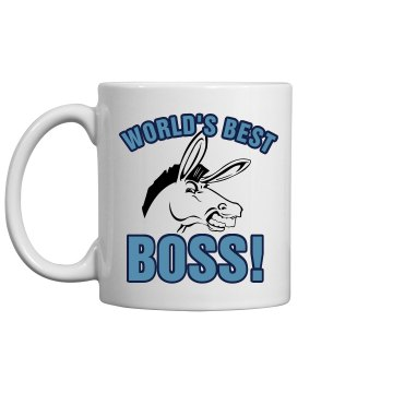 World's Best Boss...sorta 11oz Ceramic Coffee Mug