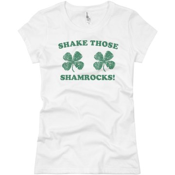 St. Patrick&#x27;s Sham Shake Junior Fit Basic Bella Favorite Tee