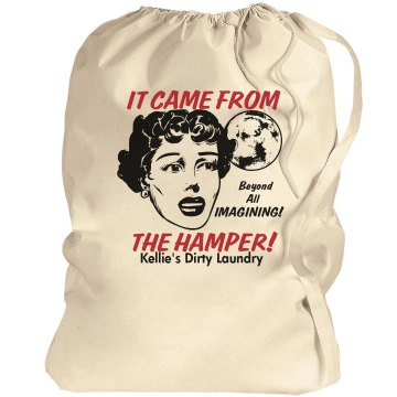 It Came from the HAMPER Port Authority Laundry Bag