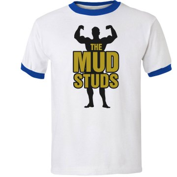 The Mud Studs Unisex Anvil Ringer Tee
