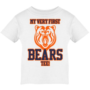 My Very First Bears Tee Infant Rabbit Skins Lap Shoulder Tee