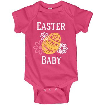 Easter Baby Onesie Infant Rabbit Skins Lap Shoulder Creeper