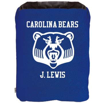 Carolina Bears Blanket 2-in-1 Poly Fleece Pillow Blanket