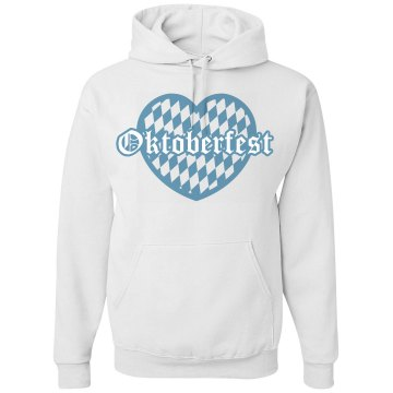 Oktoberfest Hooded Unisex Hanes Ultimate Cotton Heavyweight Hoodie