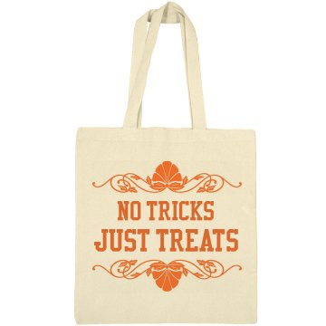Just Treats Bag Liberty Bags Canvas Tote