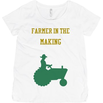 Farmer in the making Maternity LA T Sportswear Tee
