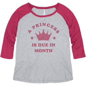 Princess Baby Misses Relaxed Fit Anvil V-Neck Tee