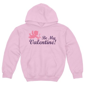 Be My Valentine! Youth Gildan Heavy Blend Hoodie