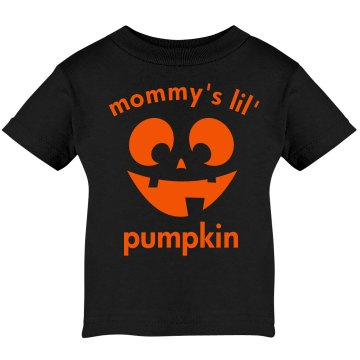 Mommy's Pumpkin Infant Bella Baby Long Sleeve Lap Shoulder Tee
