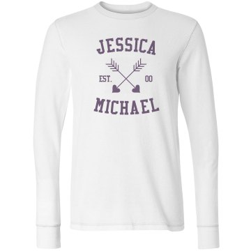 Jessica And Michael Junior Fit Bella Long Sleeve Thermal Tee