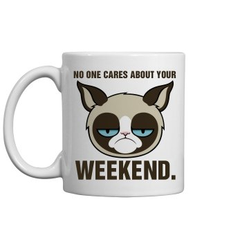 Office Grumpy Cat 11oz Ceramic Coffee Mug