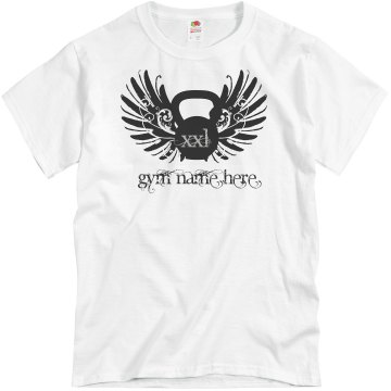Kettlebell Gym Promo Tee Unisex Basic Gildan Heavy Cotton Crew Neck Tee