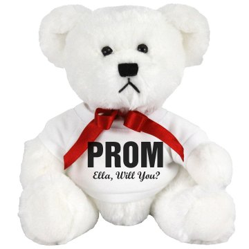 Prom Question Bear Medium Plush Teddy Bear