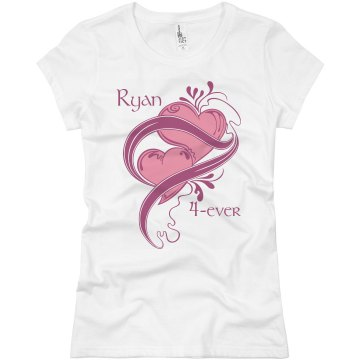 Ryan 4-ever Junior Fit Basic Bella Favorite Tee