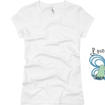 Love Birds Junior Fit Basic Bella Favorite Tee