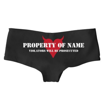Property of Hot Shorts Bella Hotshort
